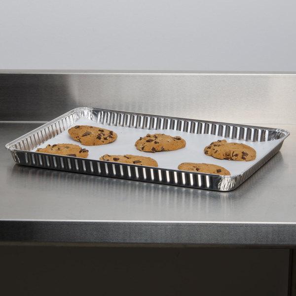 Durable Packaging 7300-55 1/2 Sheet Foil Cake Pan - 100/Case