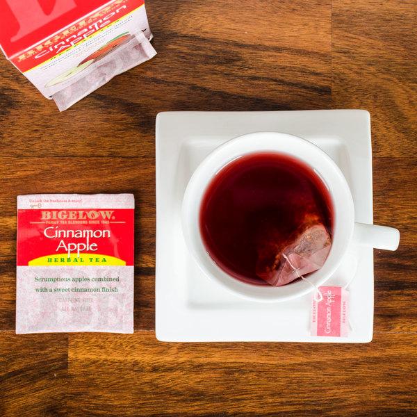 Bigelow Cinnamon Apple Herb Tea - 28/Box