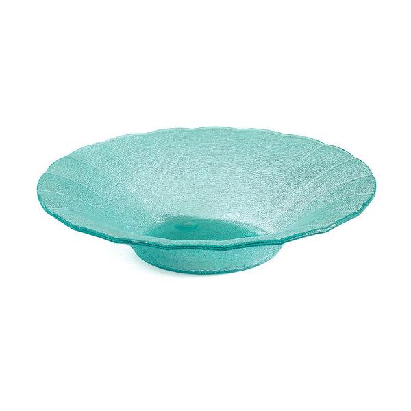 GET HI-2033-JA Cache 2 Qt. Jade Petal Polycarbonate Bowl - 3/Case