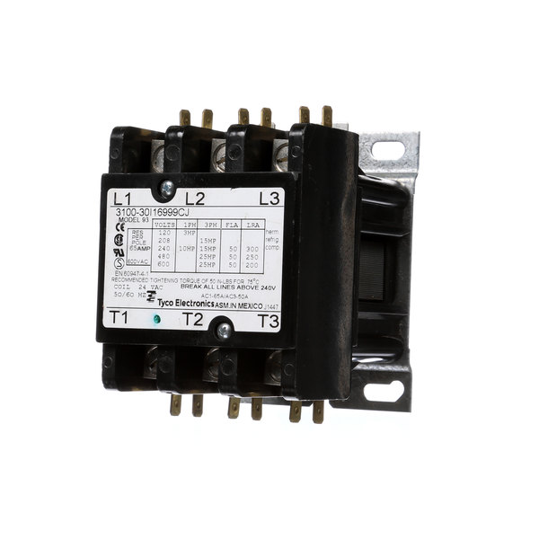 Frymaster 8072283 Contactor,63 Amp Mech 24v Coil Main Image 1