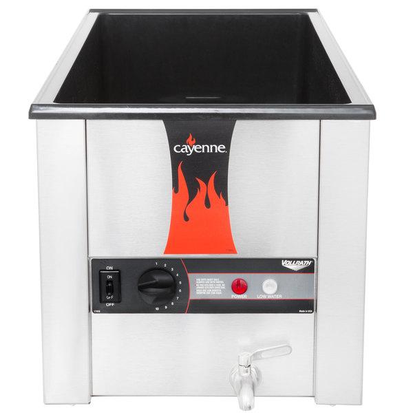"Vollrath 72051 Cayenne 28 3/4"" x 13 3/4"" Heat 'n Serve 4/3 Size Countertop Food Rethermalizer - 120V, 1600W"