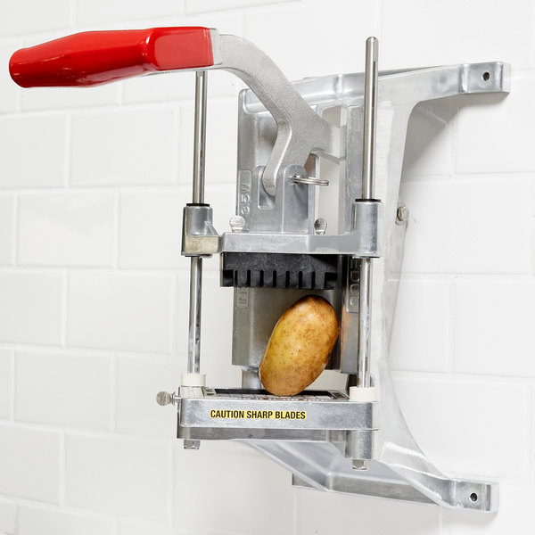 """Vollrath 15017 Redco InstaCut 3.5 3/8"""" French Fry Cutter / Dicer - Wall Mount Main Image 3"""