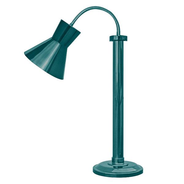 Hanson Heat Lamps SLM/300/ST TXT VRDGRS Textured Verdigris Flexible Single Bulb Freestanding Heat Lamp