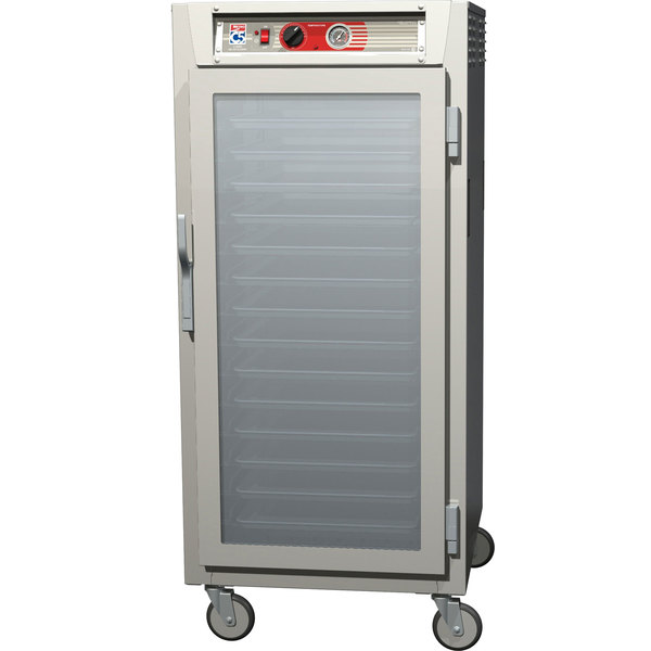 Metro C567-SFC-L C5 6 Series 3/4 Height Reach-In Heated Holding Cabinet - Clear Door