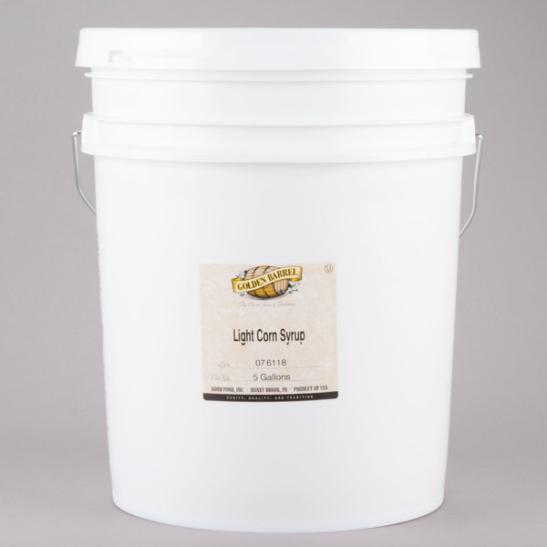 Golden Barrel Light Corn Syrup - 5 Gallon Main Image 1