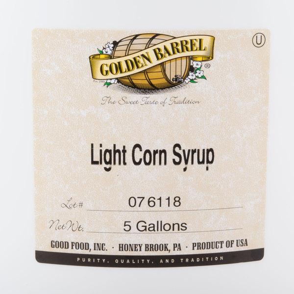 Golden Barrel Light Corn Syrup 5 Gallon