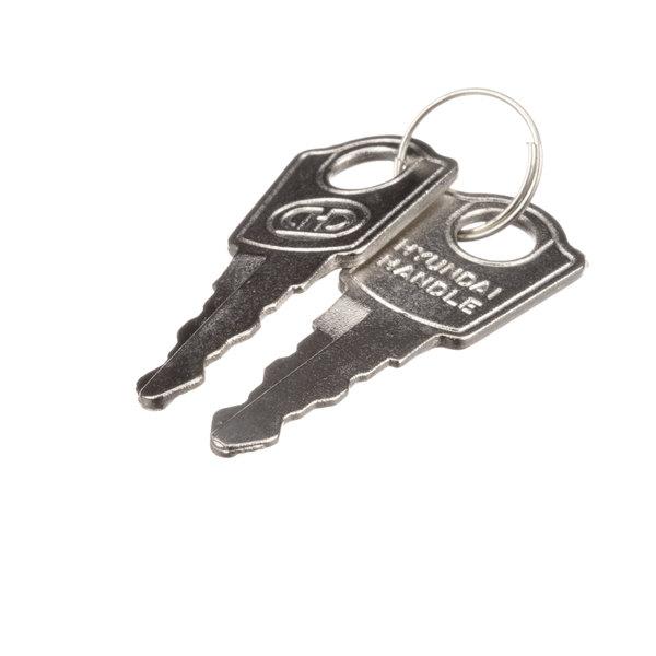 Master-Bilt 02-71509 Keys (Pair) For Msr/F, Gst,