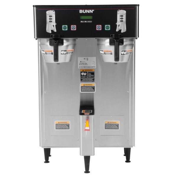 Bunn 34600.0006 BrewWISE Dual ThermoFresh DBC Brewer with Funnel Lock on