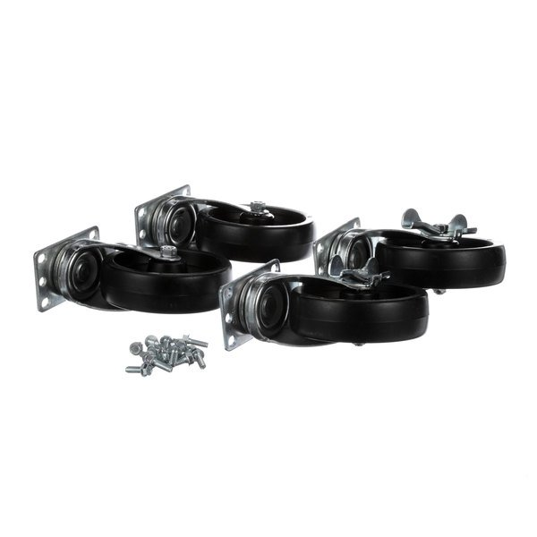 Silver King 10314-75 Kit Caster Plate 5in (4 Per) Main Image 1