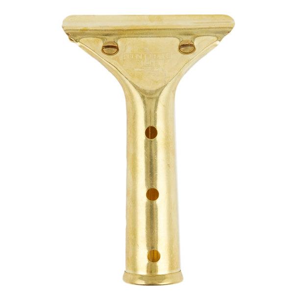 Unger GS00 Golden Clip Brass Squeegee Handle