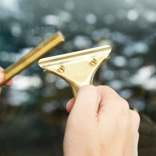 Unger GS000 GoldenClip Brass Squeegee Handle