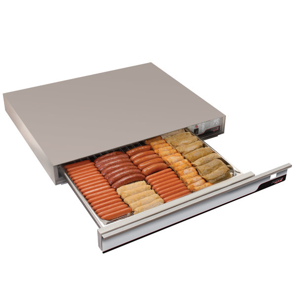 "APW Wyott SPTU-50 35"" Hot Dog Thermo Drawer - 208/240V Main Image 1"