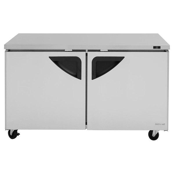 """Turbo Air TUR-60SD Super Deluxe 60"""" Undercounter Refrigerator"""