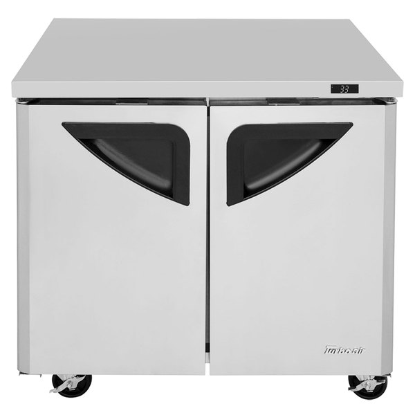 "Turbo Air TUR-36SD Super Deluxe 36"" Undercounter Refrigerator"
