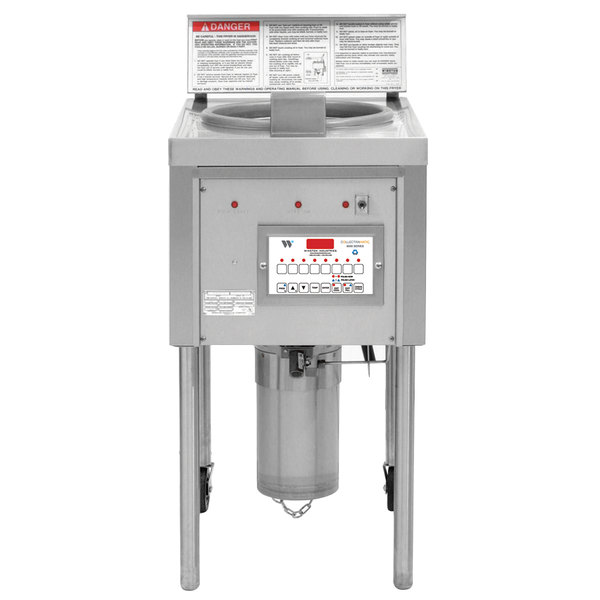 Winston Industries OF49C Collectramatic 64 lb. Electric Open Fryer - 240V, 3 Phase