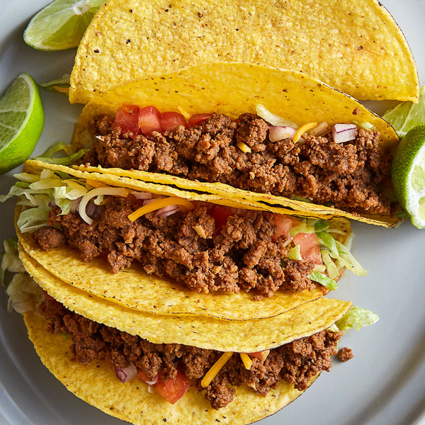 Vanee 356T3 48 oz. Can Beef Taco Filling - 6/Case Main Image 2