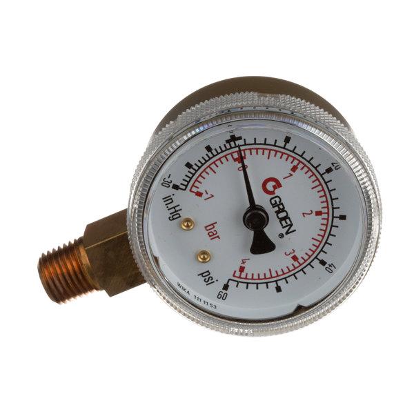 Groen Z099156 Gauge Compound Pressure W/Dual Main Image 1