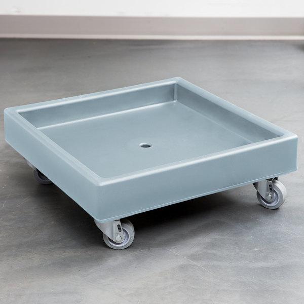 Cambro CD2020401 Slate Blue Camdolly Dish Rack / Glass Rack Dolly - No Handle