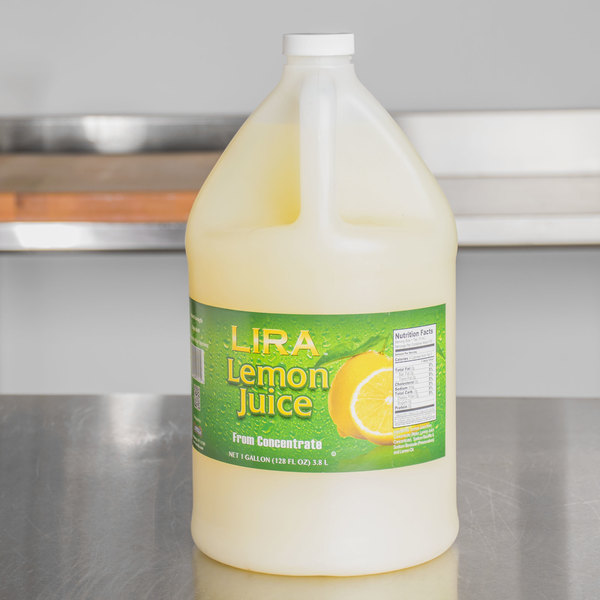 Lemon Juice - 1 Gallon