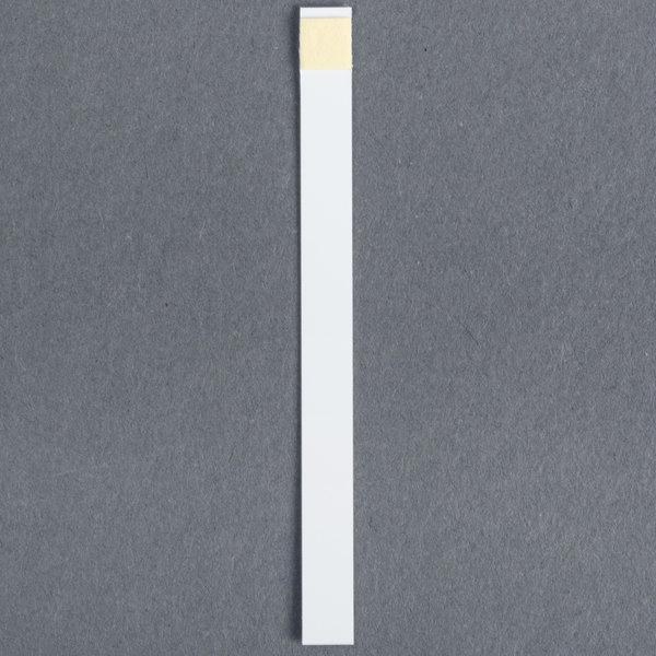 FMP 142-1363 Quaternary Ammonia Sanitizer Test Strip Tape - 100/Bag