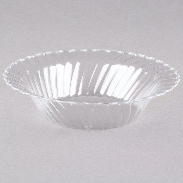 WNA Comet CWB10180C Classicware 10 oz. Clear Plastic Bowl - 18/Pack