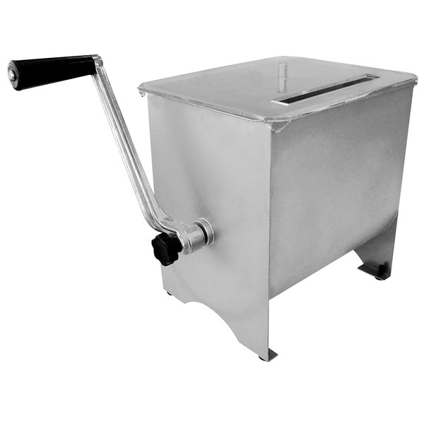 17 lb. Manual Meat Mixer with 4.2 Gallon Tank