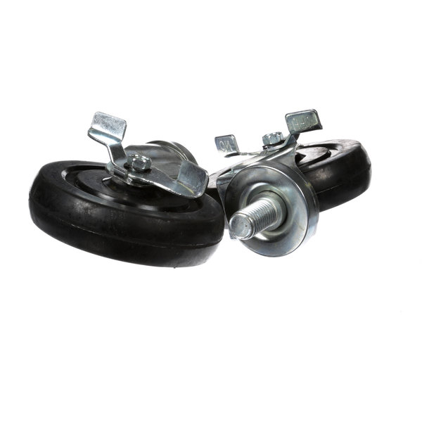Wells 5F-21372 Swivel Casters With Brakes - 2/Set