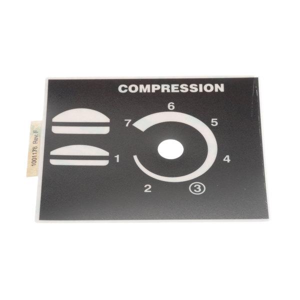 Antunes 1001178 Label, Compression Lh