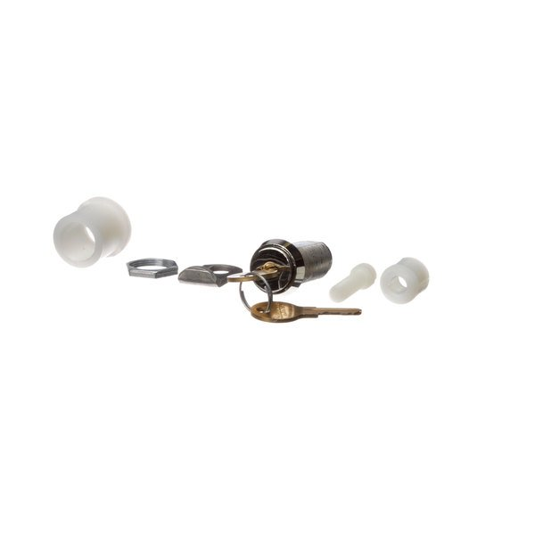 Beverage-Air 28B04S001AAA Cylinder Lock Assembly Main Image 1
