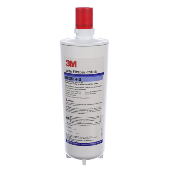 3M Water Filtration Products 56261-02 Filter (Hc251-Hs)