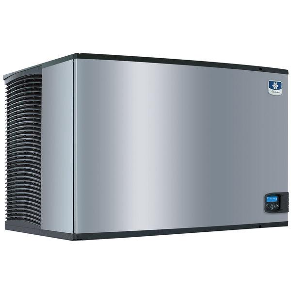 "Manitowoc IY-1804A Indigo Series 48"" Air Cooled Half Size Cube Ice Machine - 208V, 3 Phase, 1860 lb."