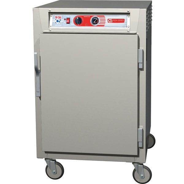 Metro C5Z65-NFS-S C5 Pizza Series Insulated Heated Holding Cabinet - Half Size with Solid Door 120V