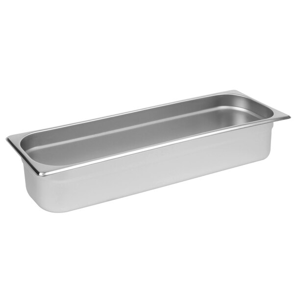 Commercial Full Size x 1-1//4 Deep Pack of 2 Anti-Jam Stainless Steel Steam Table//Hotel Pan 22 Gauge
