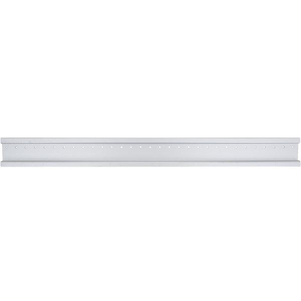 "Vollrath 91954 Traex® 31"" Aluminum Wall Mounting Rail - Holds 6 Bins Main Image 1"