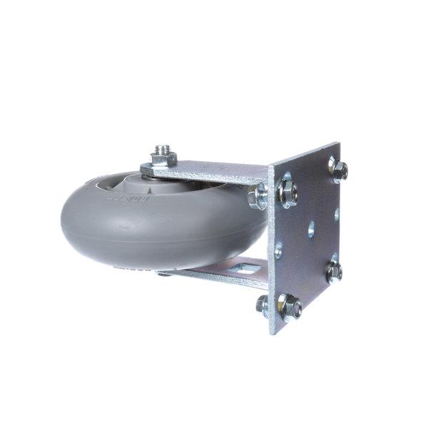 Lockwood CAS-62PERF-PB-GG-R Caster, Rigid Main Image 1