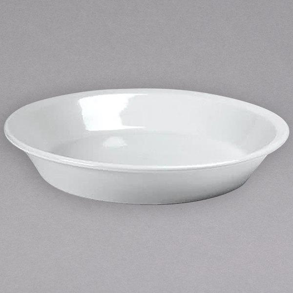 Hall China 20000AWHA 48 oz. Ivory (American White) China Salad / Pasta Bowl - 12/Case