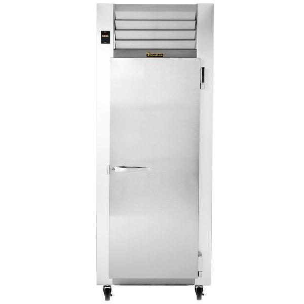 "Traulsen G12010 30"" G Series One Section Solid Door Reach in Freezer with Right Hinged Door"