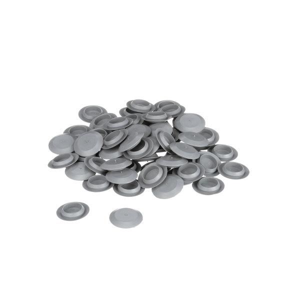 Kolpak 254041075 Plug Button 3/4 Gray Plastic - 200/Pack
