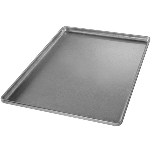 "Chicago Metallic 41031 Full Size 22 Gauge Glazed Aluminized Steel Customizable Sheet Pan - Band in Rim, 18"" x 26"""