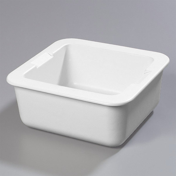 "Carlisle CM104602 Coldmaster 2/3 Size White Cold Food Pan Holder - 6"" Deep"