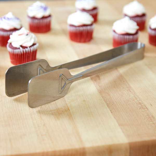 "Carlisle 607695 Stainless Steel 9"" Pastry Tong"