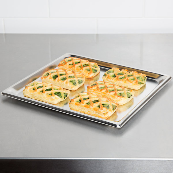"""Vollrath 90102 Super Pan 3® 2/3 Size Anti-Jam Stainless Steel Steam Table Tray - 3/4"""" Deep"""
