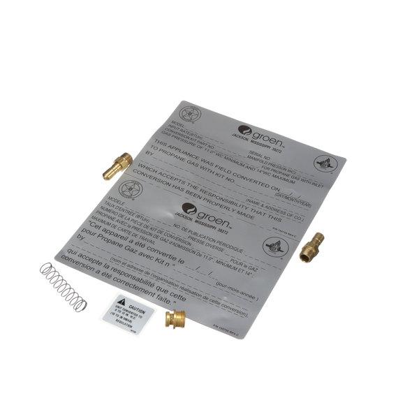 Groen 155754-01 Gas Conversion Kit, Ssb-3g, N02 To