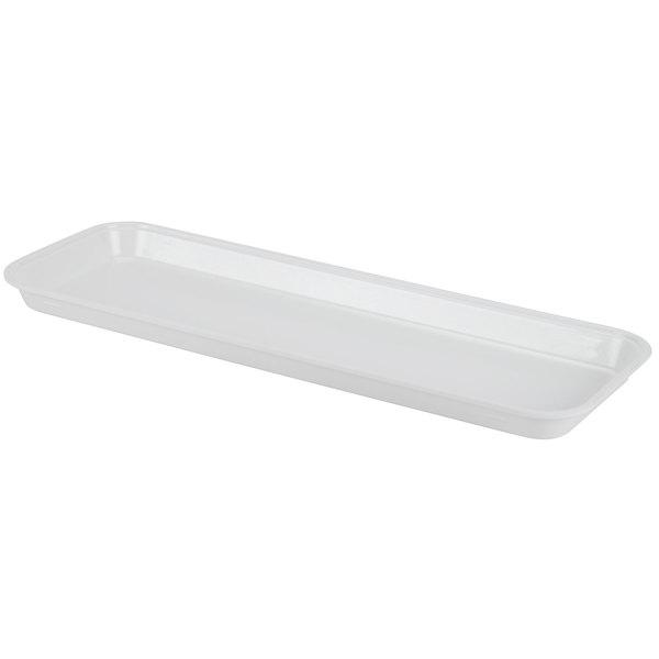 "Cambro 92615MT148 White Fiberglass Market Pan 9"" x 26"" - 12/Case"