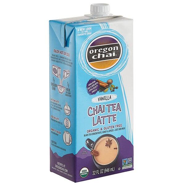 Oregon Chai 32 fl. oz. Organic Vanilla Chai Tea Latte 1:1 Concentrate Main Image 1