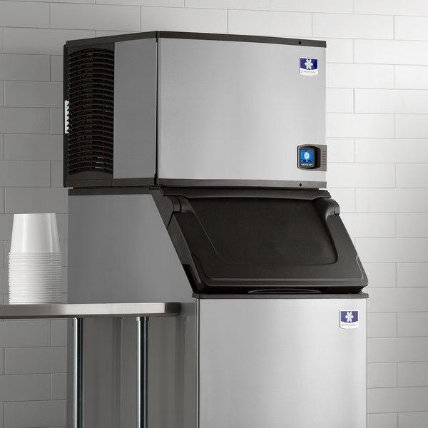 """Manitowoc IDT0500N Indigo NXT 30"""" Remote Condenser Half Size Cube Ice Machine - 510 lb."""
