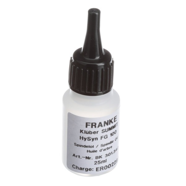 Franke 1556455 Spindle Lube Main Image 1