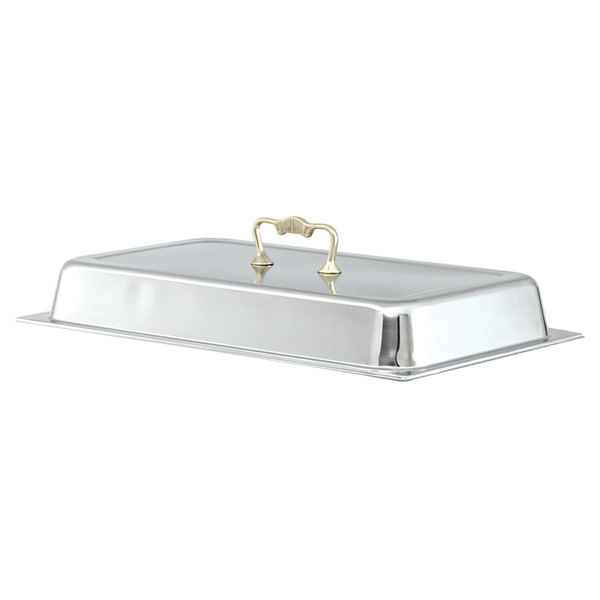 Vollrath 46043 Full Size Classic Brass Chafer Cover