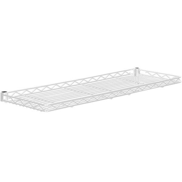 """Metro 1236CSNW White Cantilever Shelf - 12"""" x 36"""""""