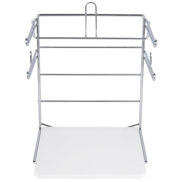 Chrome T-Shirt Bag Rack / Stand